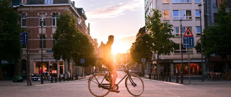 Job als Fahrradkurier
